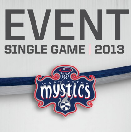 Washington Mystics Game Credentials