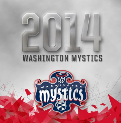 Washington Mystics Branding 2014
