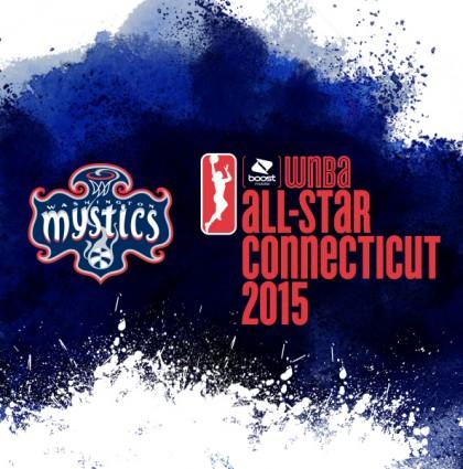 Washington Mystics 2015 WNBA All-Star Branding
