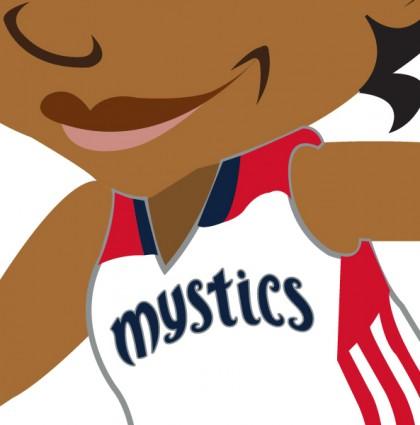Mystics 2015 Girl Scout Patch